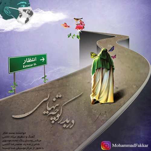 دانلود آهنگ جدید محمد فکار دربه در کوچه تنهایی
